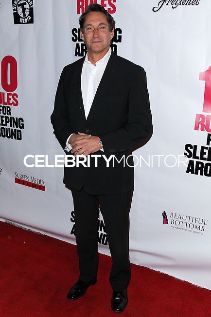 "HOLLYWOOD, LOS ANGELES, CA, USA - APRIL 01: Michael Corbett at the Los Angeles Premiere Of Screen Media Films' ""10 Rules For Sleeping Around"" held at the Egyptian Theatre on April 1, 2014 in Hollywood, Los Angeles, California, United States. (Photo by Xavier Collin/Celebrity Monitor)"