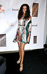 TV Personality Terri Seymour arrives at the launch of Camila Alves' Handbag Collection MUXO at Kitson Studio on August 7, 2008 in Los Angeles, California.