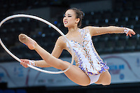 September 7, 2015 - Stuttgart, Germany - SON YEON-Jae of South Korea performs during AA qualifications at 2015 World Championships.