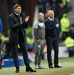 24.11.2018 Rangers v Livingston: Steven Gerrard