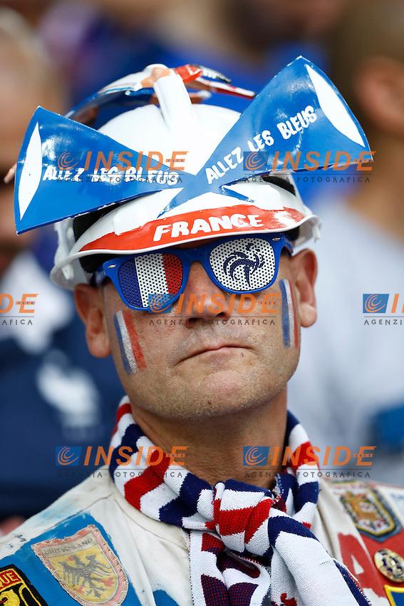 Tifosi Francia France supporters<br /> Marseilles 07-07-2016 Stade Velodrome Football Euro2016 Germany - France / Germania - Francia Semi-finals / Semifinali <br /> Foto Matteo Ciambelli / Insidefoto