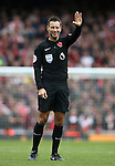 Referee Mark Clattenburg in action during the Premier League match at the Emirates Stadium, London. Picture date November 6th, 2016 Pic David Klein/Sportimage