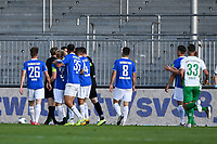 v.l. Rangelei zwischen Branimir Hrgota (SpVgg Greuther Fuerth) und Marcel Schuhen (SV Darmstadt 98), Victor Palsson (SV Darmstadt 98) / Rudelbildung<br /> <br /> - 29.05.2020: Fussball 2. Bundesliga, Saison 19/20, Spieltag 29, SV Darmstadt 98 - SpVgg Greuther Fuerth, emonline, emspor, <br /> <br /> Foto: Florian Ulrich/Jan Huebner/Pool VIA Marc Schüler/Sportpics.de<br /> Nur für journalistische Zwecke. Only for editorial use. (DFL/DFB REGULATIONS PROHIBIT ANY USE OF PHOTOGRAPHS as IMAGE SEQUENCES and/or QUASI-VIDEO)