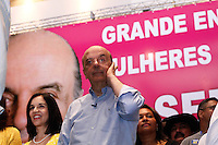 ATENÇÃO EDITOR: FOTO EMBARGADA PARA VEÍCULOS INTERNACIONAIS. SAO PAULO SP,20  DE OUTUBRO DE 2012. ELEICAO 2012 - CAMPANHA JOSE SERRA. O candidato do PSDB a prefeitura de Sao Paulo, Jose Serra, durante encontro com as mulheres do PTB na Casa de Portugal, na manha deste sabado,na zona central da capital paulista. FOTO ADRIANA SPACA/BRAZIL PHOTO PRESS