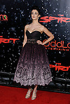 """HOLLYWOOD, CA. - December 17: Actress Paz Vega arrives at the Los Angeles premiere of """"The Spirit"""" at the Grauman's Chinese Theater on December 17, 2008 in Hollywood, California."""