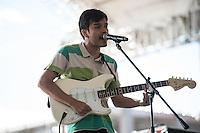 CIUDAD DE MEXICO, D.F. 13  Marzo.-  O Tortuga durante el festival Vive Latino 2015 en el Foro Sol de la Ciudad de México. el 13 de Marzo de 2015.  FOTO: ALEJANDRO MELENDEZ