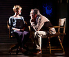 Prism <br /> by Terry Johnson <br /> at Hampstead Theatre, London, Great Britain <br /> press photocall <br /> 11th September 2017 <br /> <br /> Claire Skinner as Nicola <br /> Robert Lindsay as Jack Cardiff <br /> <br /> Designed by Tim Shortall<br /> Lighting by Ben Ormerod<br /> Sound by John Leonard <br /> Casting by Suzanne Crowley and Gilly Poole <br /> <br /> <br /> Photograph by Elliott Franks <br /> Image licensed to Elliott Franks Photography Services