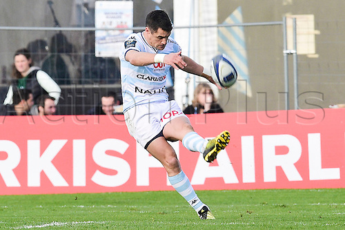 09.01.2016. Paris, France. European Champions Cup Rugby Union. Racing Metro versus Glasgow Warriors.  Dan Carter (RM92)