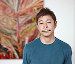 Yusaku Maezawa, chief executive of online fashion retailer in Japan, START TODAY CO.,LTD.. Picture taken August 2017, in an unknown place. START TODAY CO.,LTD. is a Japanese corporation which operating online fashion portal, ZOZOTOWN. (Photo by START TODAY CO.,LTD./AFLO)