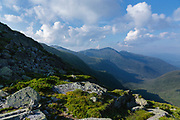Northern Presidential Range from Clay Lopp Trail in the New Hampshire White Mountains.