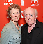 Kristin Griffith and Peter Maloney attend the Opening Night of the Atlantic Theater Company's New York Premier play 'Animal' at Jake's Saloon on June 6, 2017 in New York City.