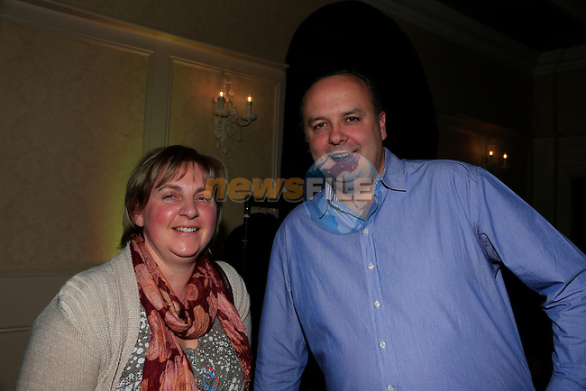 Aileen Pheland and Shane Bowe at the Fleadh Factor in the West court Hotel.<br /> Picture: Fran Caffrey www.newsfile.ie