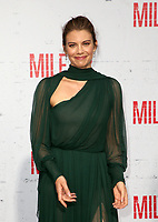 WESTWOOD, CA - AUGUST 9: Lauren Cohan, at Premiere Of STX Films' &quot;Mile 22&quot; at The Regency Village Theatre in Westwood, California on August 9, 2018.<br /> CAP/MPIFS<br /> &copy;MPIFS/Capital Pictures