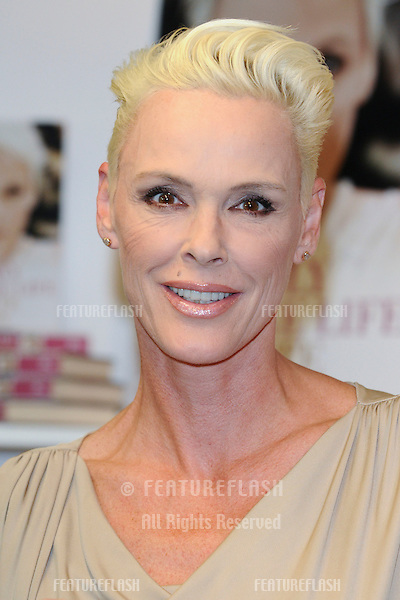Brigitte Nielsen launches her new book 'You only Get One Life' at the London Book Fair 2001, Earls Court, London. 11/04/2011 Picture by: Steve Vas / Featureflash