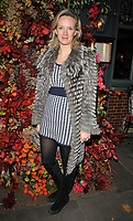 Charlotte Carroll at the Ivy Chelsea Garden's Winter Garden launch party, The Ivy Chelsea Garden, King's Road, London, England, UK, on Sunday 05 November 2017.<br /> CAP/CAN<br /> &copy;CAN/Capital Pictures