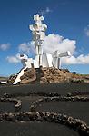Monumento a la Fecundidad by César Manrique, Monumento al Campesino, San Bartolome, Lanzarote, Canary Islands, Spain
