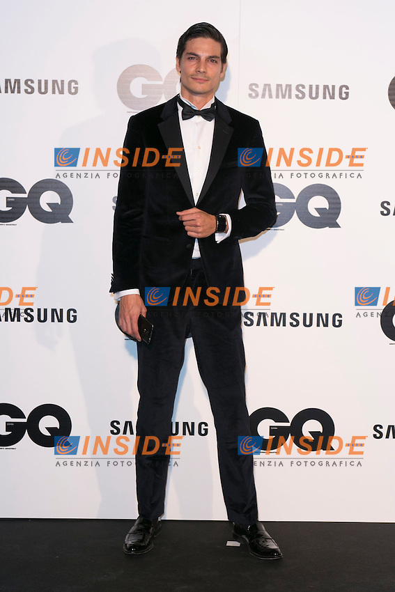 """Javier De Miguel attends the """"GQ AWARDS"""" at Palace Hotel in Madrid, Spain. November 3, 2014. (ALTERPHOTOS/Carlos Dafonte/Insidefoto)"""