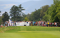 Martin Kaymer (GER) on the 5th tee during Round 1 of the D+D Real Czech Masters at the Albatross Golf Resort, Prague, Czech Rep. 31/08/2017<br /> Picture: Golffile | Thos Caffrey<br /> <br /> <br /> All photo usage must carry mandatory copyright credit     (&copy; Golffile | Thos Caffrey)