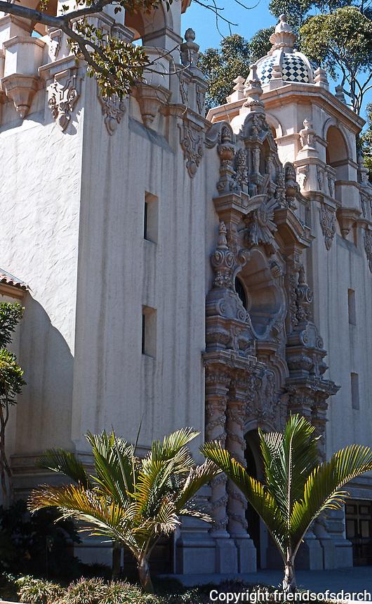 San Diego: Balboa Park. Bertram Goodhue, Architect.  Photo '78.