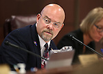 Nevada Assemblyman Ira Hansen, R-Sparks, works in committee at the Legislative Building in Carson City, Nev., on Monday, Feb. 9, 2015. <br /> Photo by Cathleen Allison
