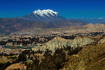 Mt Illiamani_Valley Of The Moon_El Alto_Bolivia