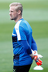 Leicester City FC's Kasper Schmeichel during training session. April 11, 2017.(ALTERPHOTOS/Acero)