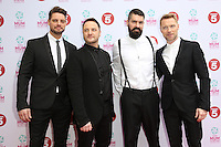 Boyzone at the Tesco Mum of the Year Awards 2014 held at the Savoy, London 23/03/2014 Picture by: Henry Harris / Featureflash