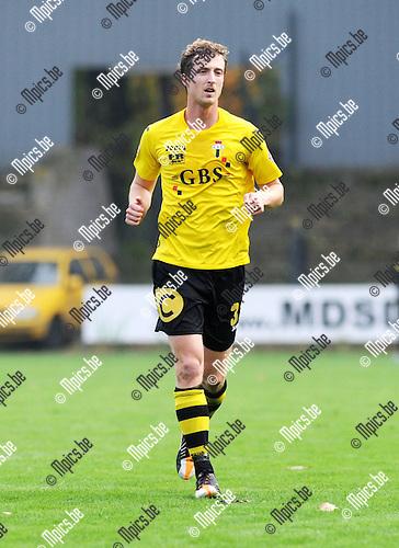 2012-10-21 / Voetbal / Seizoen 2012-2013 / Berchem Sport / Benjamin De Wilde..Foto: Mpics.be