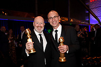 BEVERLY HILLS - JANUARY 6: (L-R) Creator/EP/Writer Joe Weisberg and EP/Writer Joel Fields attend the 2019 Fox Nominee Party for the 76th Annual Golden Globe Awards at the Fox Terrace on the Roof Deck of the Beverly Hilton on January 6, 2019, in Beverly Hills, California. (Photo by Frank Micelotta/Fox/PictureGroup)