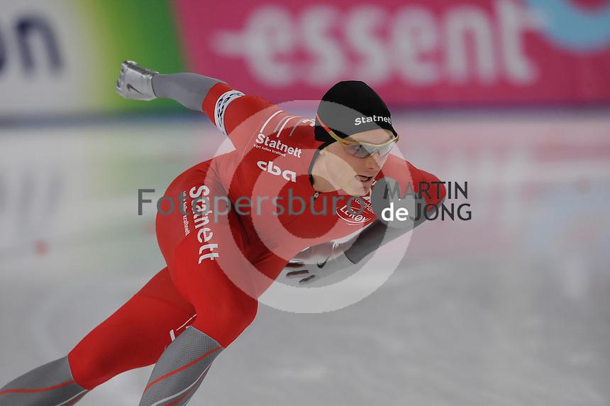 SCHAATSEN: BERLIJN: Sportforum, Essent ISU World Cup Speed Skating | The Final, 11-03-2012, 1000m Men, Håvard Bøkko (NOR), ©foto Martin de Jong