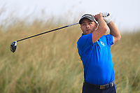 Richard McCrudden (Royal Portrush) on the 11th tee during Round 2 - Strokeplay of the North of Ireland Championship at Royal Portrush Golf Club, Portrush, Co. Antrim on Tuesday 10th July 2018.<br /> Picture:  Thos Caffrey / Golffile