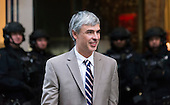 Alphabet CEO Larry Page is seen outside Trump Tower in New York, NY, USA shortly after leaving the building on December 14, 2016. <br /> Credit: Albin Lohr-Jones / Pool via CNP
