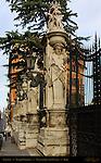 Gateposts and Lantern Dragons Palazzo Barberini GianLorenzo Bernini 1633 Via delle Quattro Fontane Rome