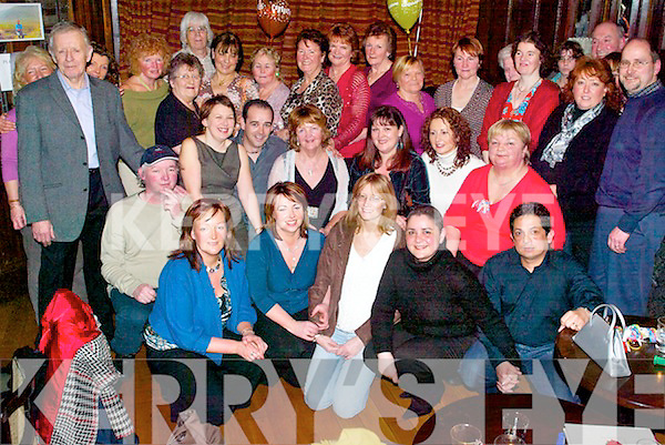Bash: Partying the night away at her surprise birthday party in The Grand Hotel, Tralee, on Saturday was Eileen OConnor of Balloonagh, along with family and friends..