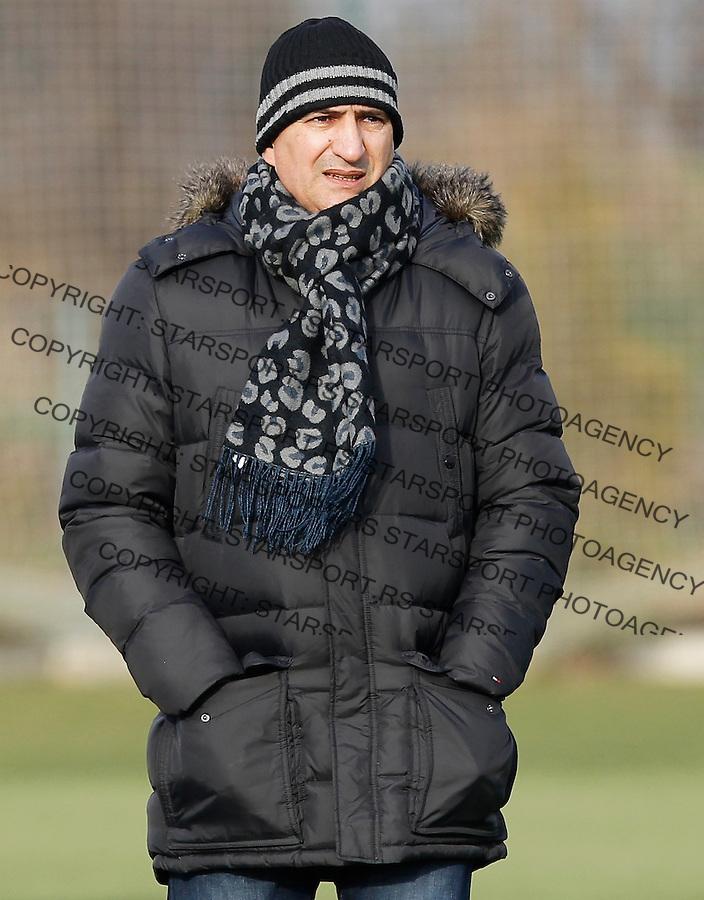 Fudbal  Reprezentacija Srbije<br /> Prijateljski mec Friendly match<br /> Srbija U17 v Croatia U17 <br /> Mitar Mrkela<br /> Beograd, 11.12.2013.<br /> foto: Srdjan Stevanovic/Starsportphoto &copy;