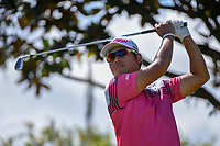 Hideki Matsuyama (JPN) watches his tee shot on 2 during round 3 of the Arnold Palmer Invitational at Bay Hill Golf Club, Bay Hill, Florida. 3/9/2019.<br /> Picture: Golffile | Ken Murray<br /> <br /> <br /> All photo usage must carry mandatory copyright credit (&copy; Golffile | Ken Murray)