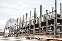 CURITIBA, PR, 21.11.2013 – Faixada da Arena da Baixada sede dos jogos da Copa do Mundo 2014 Brasil, ainda em fase de construção.  FOTO: PAULO LISBOA – BRAZIL PHOTO  PRESS