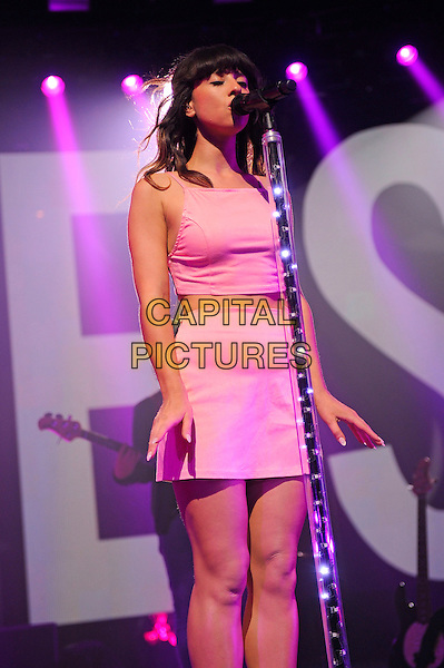 LONDON, ENGLAND - SEPTEMBER 15: Foxes (Louisa Rose Allen) performing at itunes Festival, Camden Roundhouse on September 15 in London, England.<br /> CAP/MAR<br /> &copy; Martin Harris/Capital Pictures