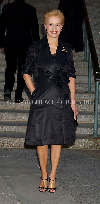 WWW.ACEPIXS.COM . . . . . ....APRIL 26, 2006 - NEW YORK CITY....Carolina Herrera attends Vanity Fair's Tribeca Film Festival at the State Supreme Courthouse in New York City.....Please byline: KRISTIN CALLAHAN - ACEPIXS.COM.. . . . . . ..Ace Pictures, Inc:  ..(212) 243-8787 or (646) 679 0430..e-mail: picturedesk@acepixs.com..web: http://www.acepixs.com