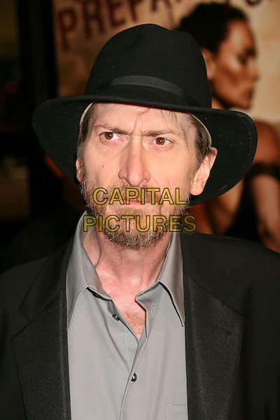 "FRANK MILLER.""300"" Los Angeles Premiere at Grauman's Chinese Theatre, Hollywood, California, USA..March 5th, 2007.headshot portrait black beard facial hair hat .CAP/ADM/BP.©Byron Purvis/AdMedia/Capital Pictures"