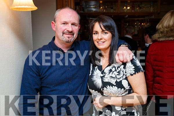 David and Sabrina Kirwan, Kilflynn, who enjoyed a meal out at Bella Bia restaurant, Tralee, on Friday night last.