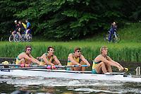 Amsterdam, NETHERLANDS, AUS BM4+,  2011 FISA U23 World Rowing Championships, Thursday, 21/07/2011 [Mandatory credit:  Intersport Images]