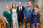 The cast of Ready to Walk the Line attending the Oskars in the Ballyroe Heights Hotel on Friday<br /> Norma O'Donoghue, Fiona O'Neill with Pa Daly TD, John Martin Carroll and Deirdre Flynn.