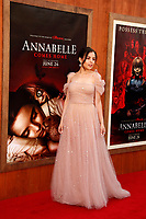 "LOS ANGELES - JUN 20:  Katie Sarife at the ""Annabelle Comes Home"" Premiere at the Village Theater on June 20, 2019 in Westwood, CA"