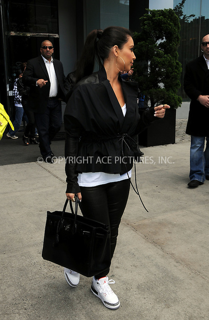 WWW.ACEPIXS.COM . . . . .  ....April 27 2012, New York City....Kim Kardashian leaves her downtown hotel on April 27 2012 in New York City....Please byline: CURTIS MEANS - ACE PICTURES.... *** ***..Ace Pictures, Inc:  ..Philip Vaughan (212) 243-8787 or (646) 769 0430..e-mail: info@acepixs.com..web: http://www.acepixs.com