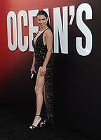NEW YORK, NY - June 5: Adriana Lima attends 'Ocean's 8' World Premiere at Alice Tully Hall on June 5, 2018 in New York City. <br /> CAP/MPI/JP<br /> &copy;JP/MPI/Capital Pictures