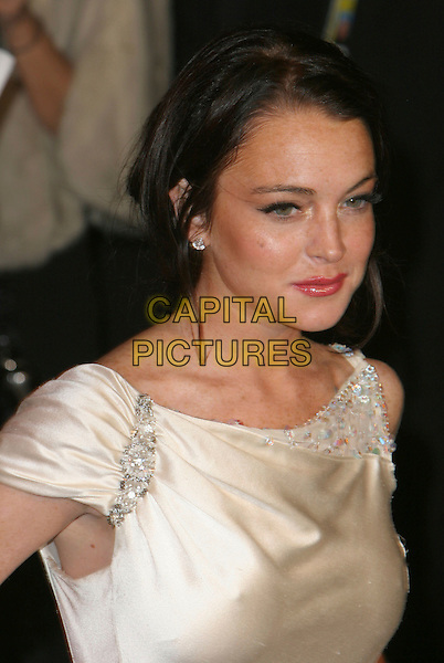 LINDSAY LOHAN.2006 Vanity Fair Oscar Party held at Morton's, West Hollywood, California, USA.March 5th, 2006.Photo: Charles Harris/AdMedia/Capital Pictures.Ref: CH/ADM.headshot portrait.www.capitalpictures.com.sales@capitalpictures.com.© Capital Pictures.