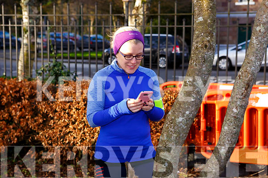 Christina O'Callaghan from Ardfert before the Tralee Park Run in the Tralee town park on New Years day.