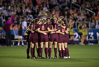 Virginia Tech. Florida State defeated Virginia Tech, 3-2,  at the NCAA Women's College Cup semifinals at WakeMed Soccer Park in Cary, NC.
