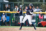 #22 Endo Kanako of Japan bats during the BFA Women's Baseball Asian Cup match between South Korea and Japan at Sai Tso Wan Recreation Ground on September 2, 2017 in Hong Kong. Photo by Marcio Rodrigo Machado / Power Sport Images